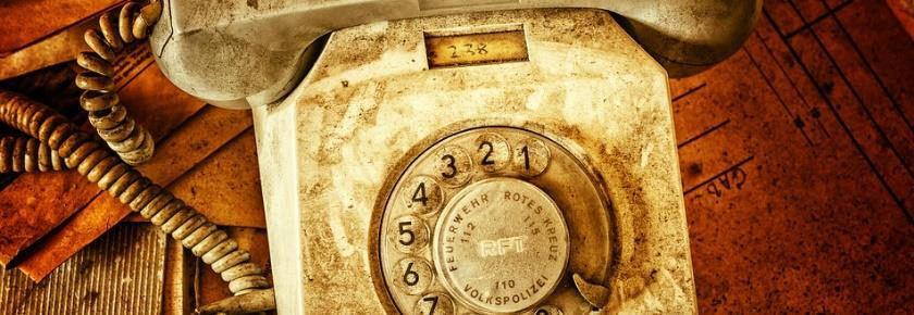 Dirty Old Dial Phone